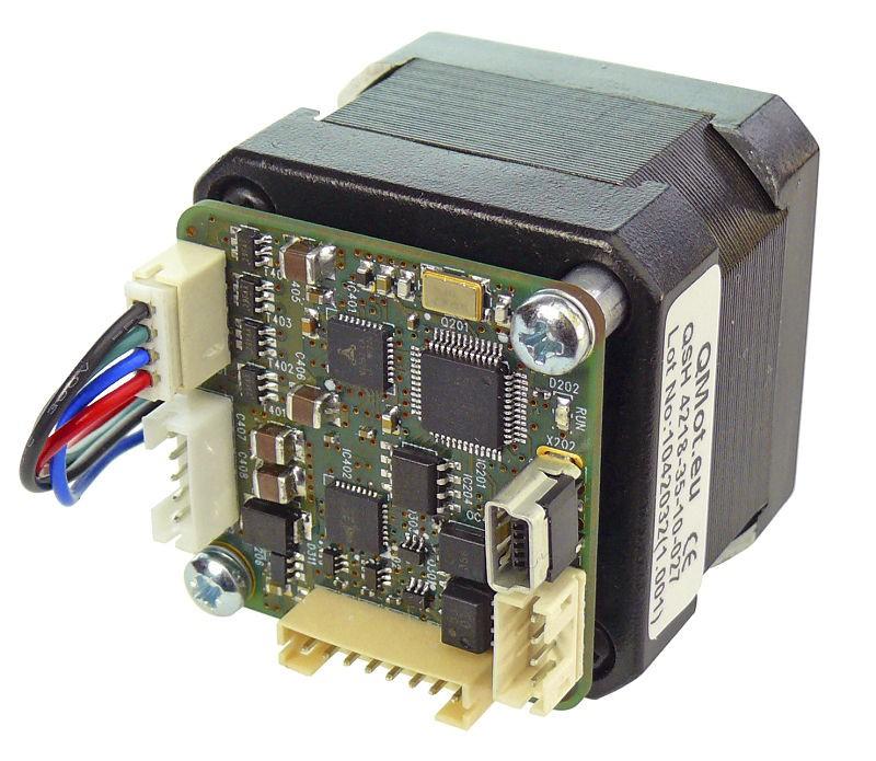 Trinamic stepper motor motion control tmcl vvvv for Stepper motor control software