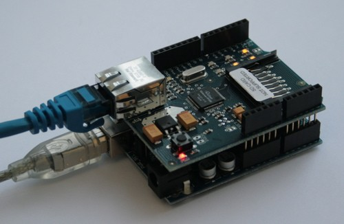 Download arduino ethernet library