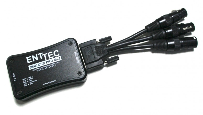 Enttec DMX USB Pro MkII module | vvvv