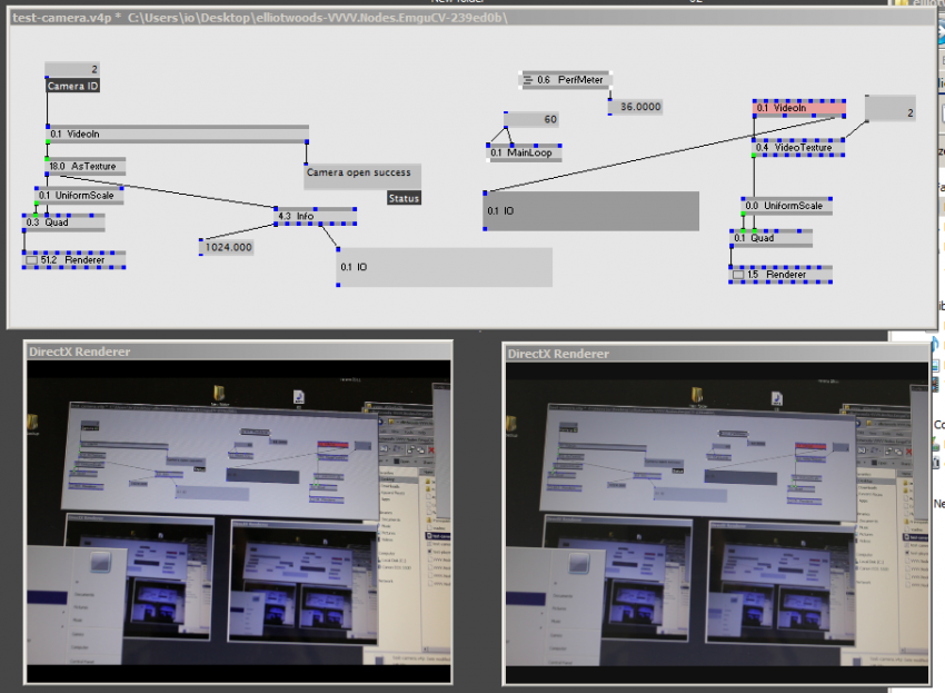 Replacing DirectShow with managed OpenCV  Video playback / capture
