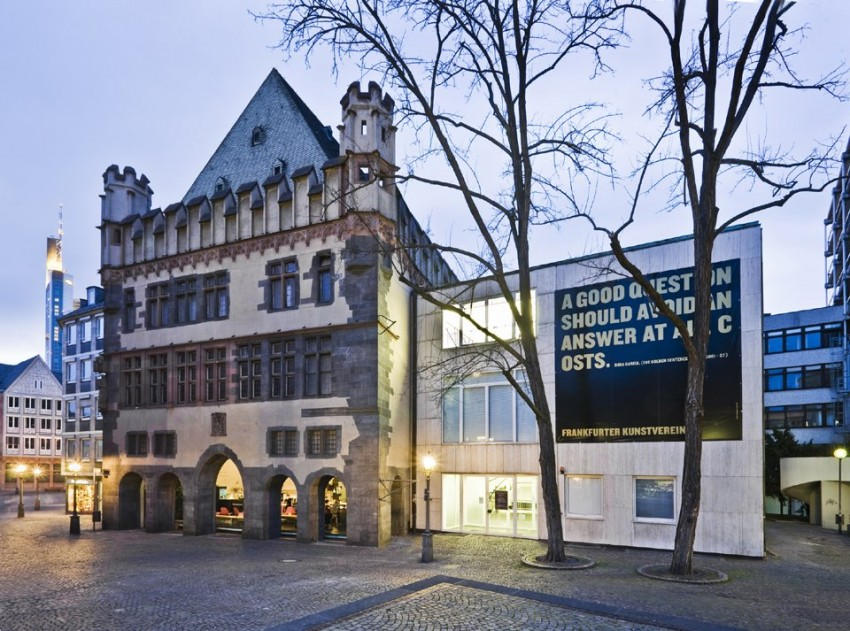 NODE13 Venue - Frankfurter Kunstverein Germany (exterior view)