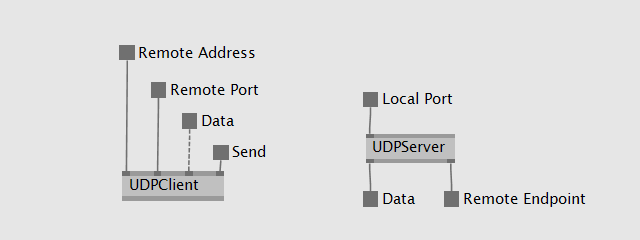 Simple VL UDP nodes