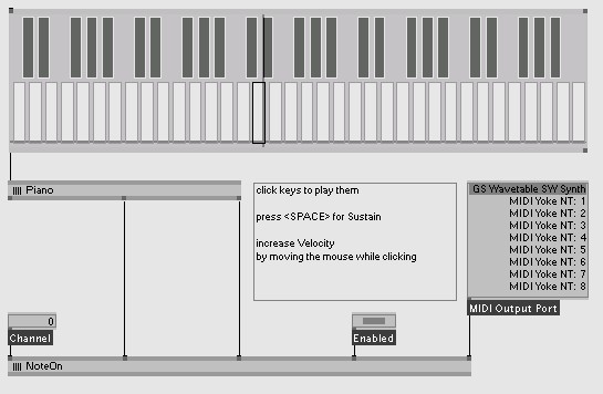 kalle Modules MIDI | vvvv