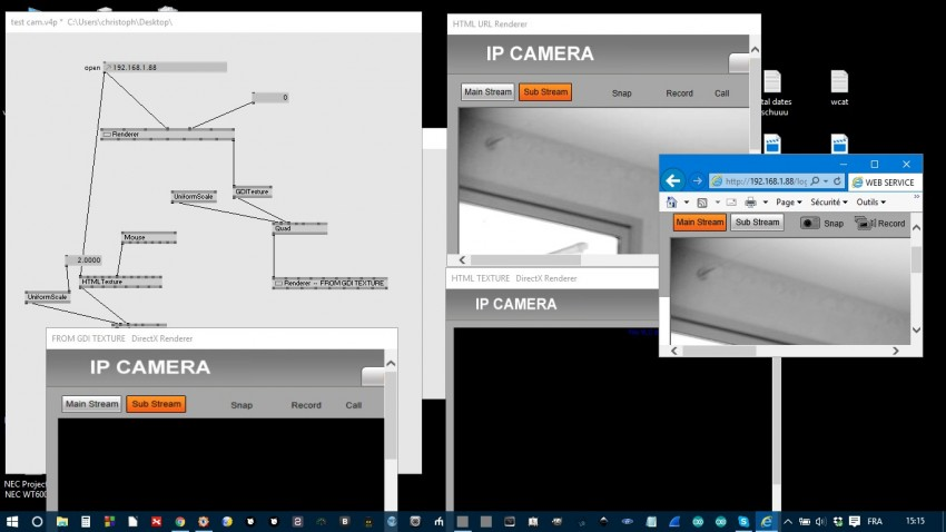 Troubles to read images from an IP Camera based on VLC plug in ...