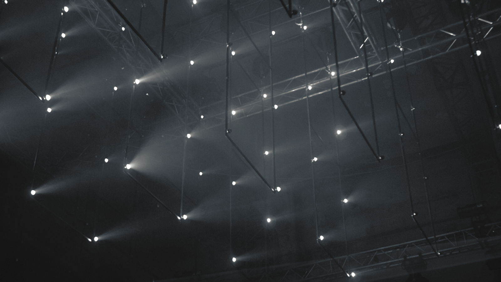 """Empyrean"" kinetic light installation by VOLNA & 2A production"