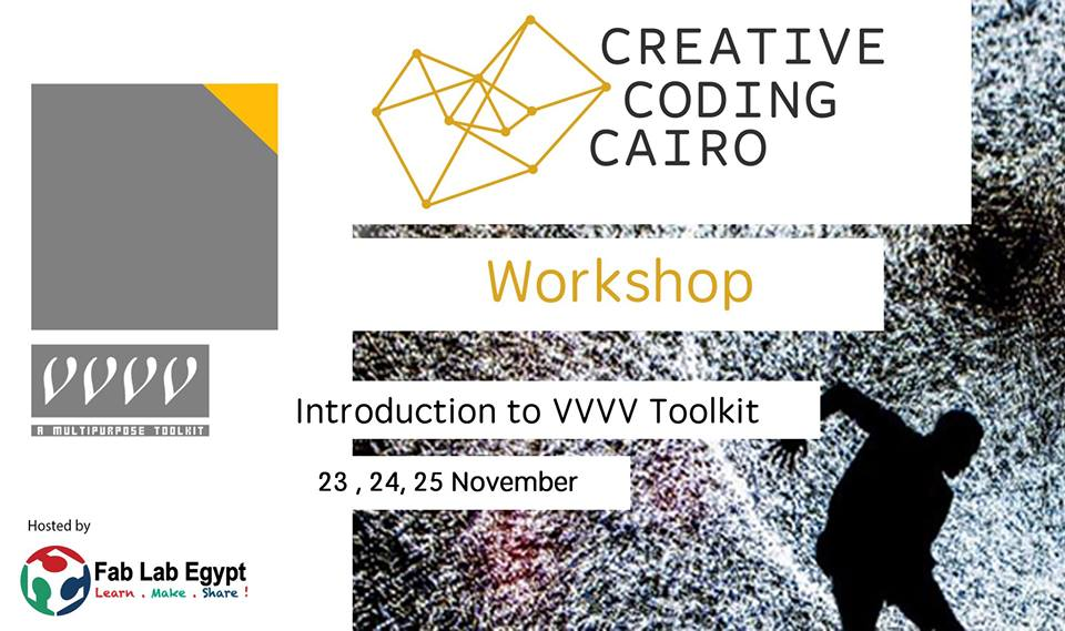 VVVV Workshops by Creative Coding Cairo