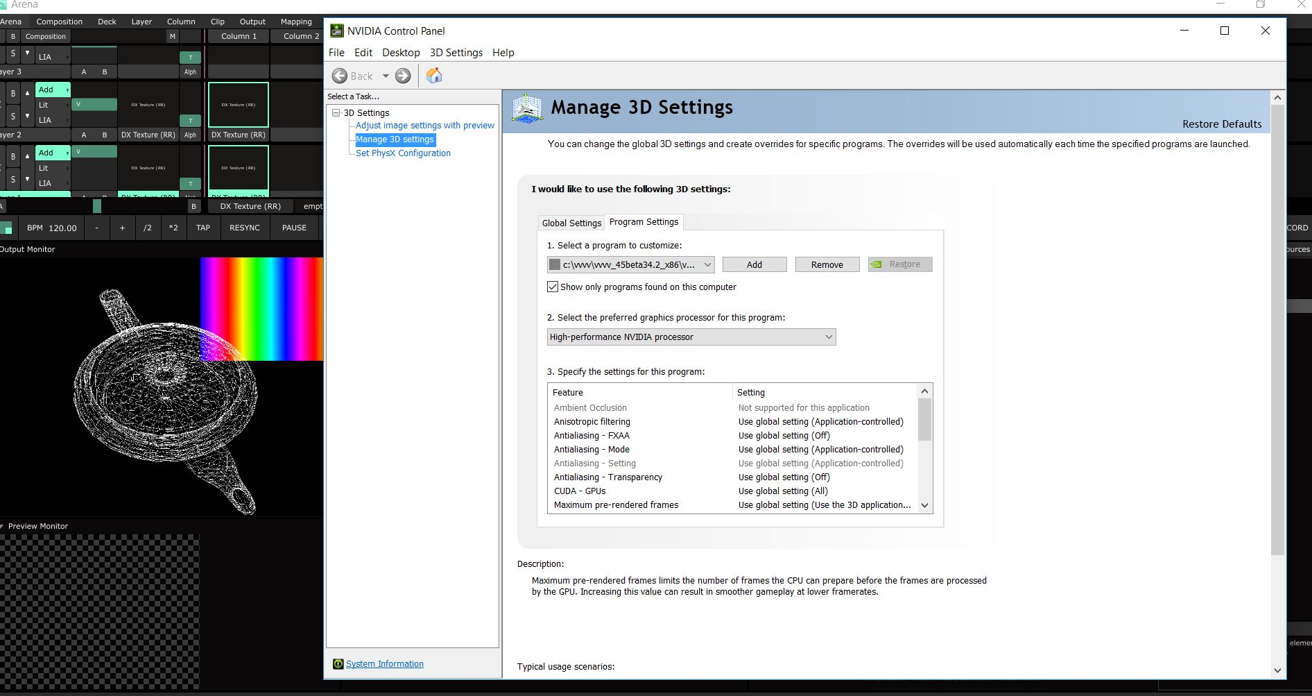 OBSOLETE, see Spout] DirectX-FreeframeGL Bridge | vvvv