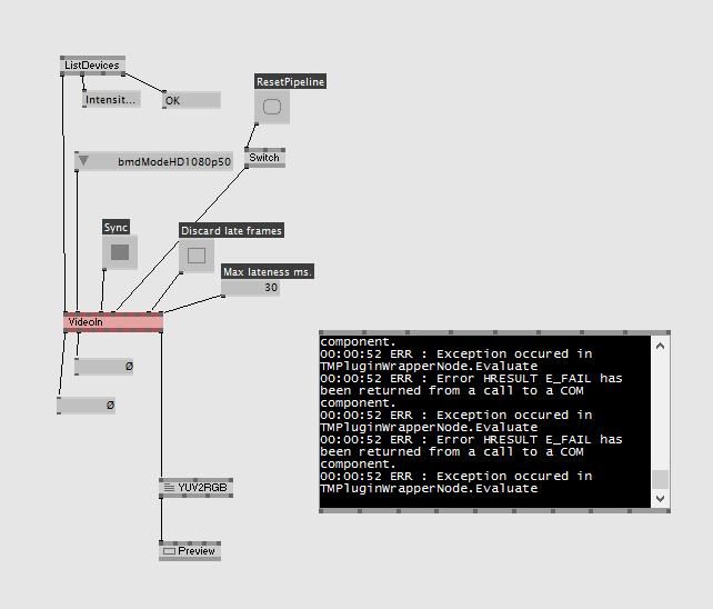decklink dx11 red node