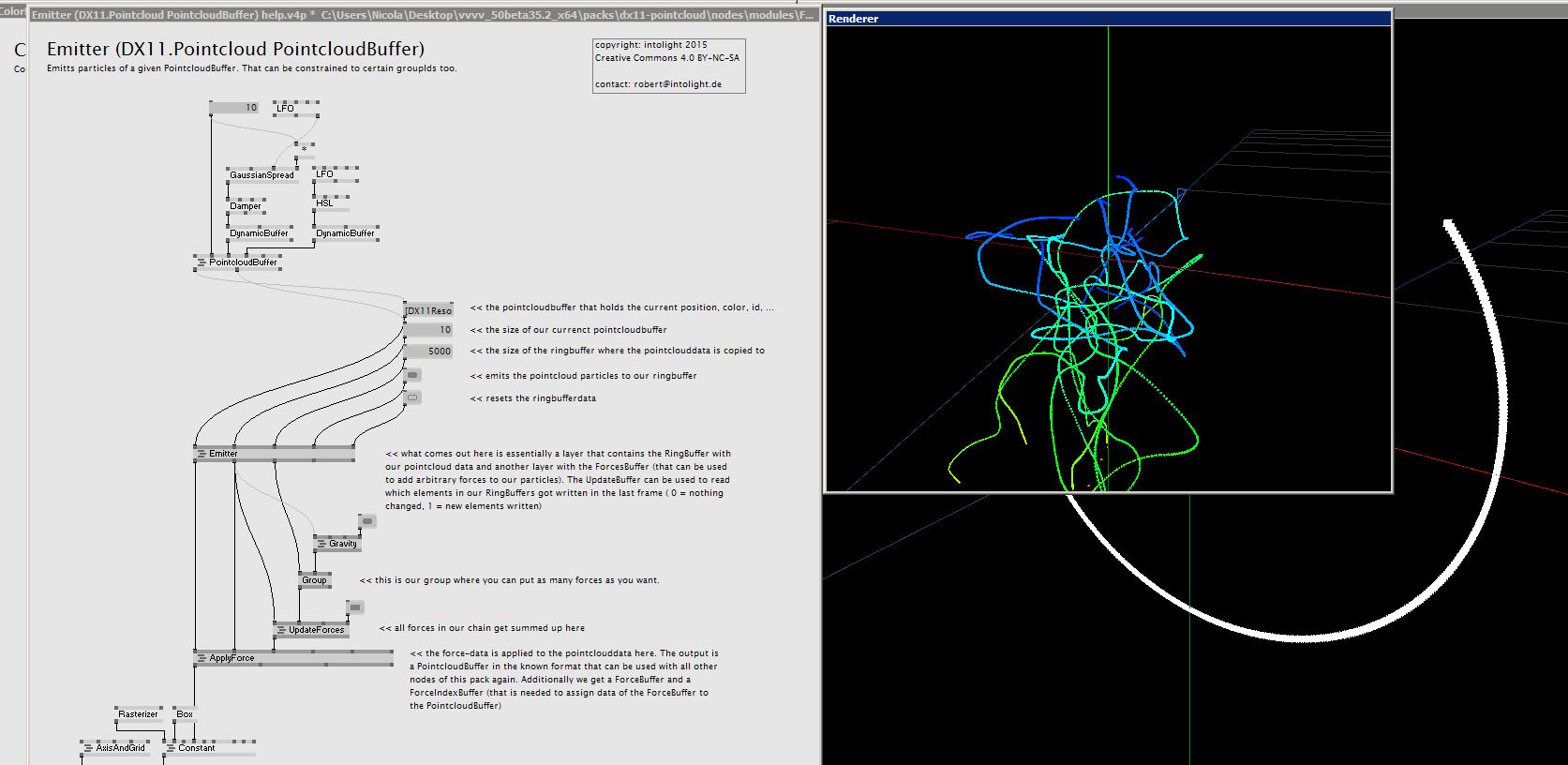 DX11 Particles | vvvv